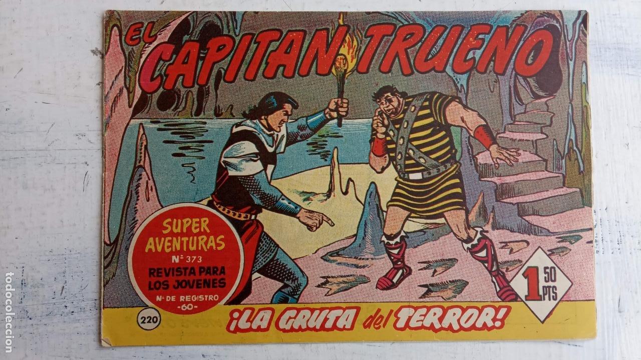 Tebeos: EL CAPITÀN TRUENO ORIGINAL AÑO 1956 COMPLETA Y SUELTA 1 AL 618 - VER TODAS LAS PORTADAS, MUY BUENA - Foto 592 - 204841075