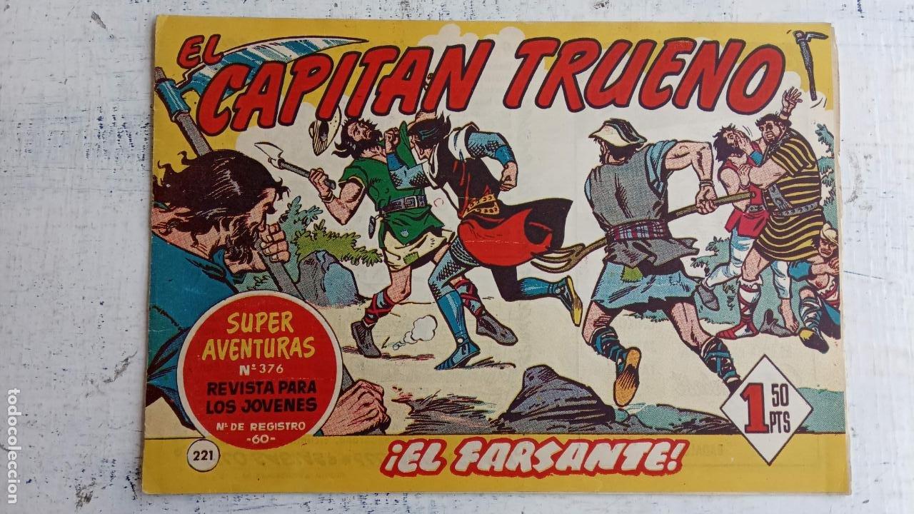 Tebeos: EL CAPITÀN TRUENO ORIGINAL AÑO 1956 COMPLETA Y SUELTA 1 AL 618 - VER TODAS LAS PORTADAS, MUY BUENA - Foto 593 - 204841075