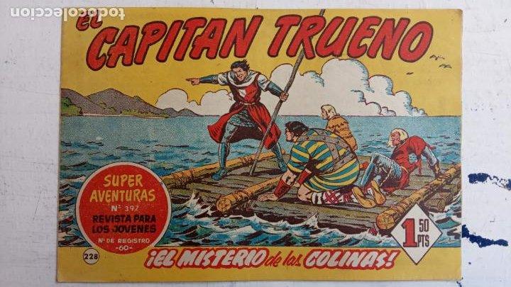 Tebeos: EL CAPITÀN TRUENO ORIGINAL AÑO 1956 COMPLETA Y SUELTA 1 AL 618 - VER TODAS LAS PORTADAS, MUY BUENA - Foto 600 - 204841075