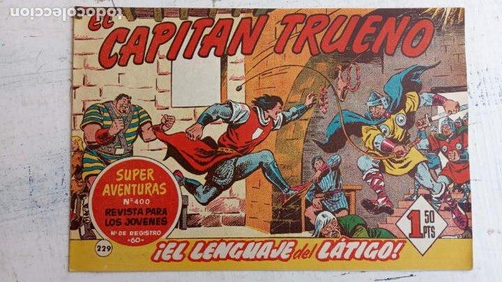 Tebeos: EL CAPITÀN TRUENO ORIGINAL AÑO 1956 COMPLETA Y SUELTA 1 AL 618 - VER TODAS LAS PORTADAS, MUY BUENA - Foto 601 - 204841075