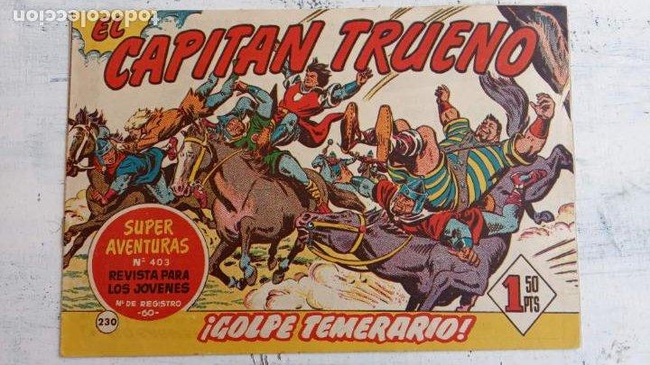 Tebeos: EL CAPITÀN TRUENO ORIGINAL AÑO 1956 COMPLETA Y SUELTA 1 AL 618 - VER TODAS LAS PORTADAS, MUY BUENA - Foto 602 - 204841075