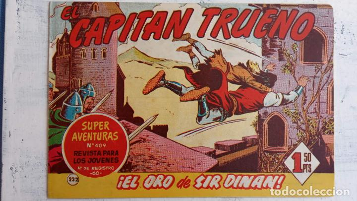 Tebeos: EL CAPITÀN TRUENO ORIGINAL AÑO 1956 COMPLETA Y SUELTA 1 AL 618 - VER TODAS LAS PORTADAS, MUY BUENA - Foto 604 - 204841075