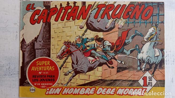 Tebeos: EL CAPITÀN TRUENO ORIGINAL AÑO 1956 COMPLETA Y SUELTA 1 AL 618 - VER TODAS LAS PORTADAS, MUY BUENA - Foto 608 - 204841075