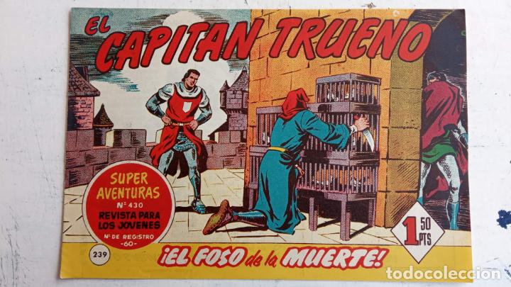 Tebeos: EL CAPITÀN TRUENO ORIGINAL AÑO 1956 COMPLETA Y SUELTA 1 AL 618 - VER TODAS LAS PORTADAS, MUY BUENA - Foto 611 - 204841075