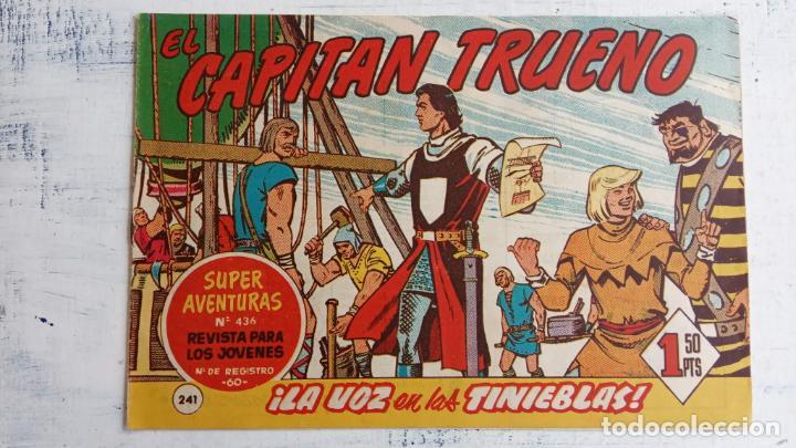 Tebeos: EL CAPITÀN TRUENO ORIGINAL AÑO 1956 COMPLETA Y SUELTA 1 AL 618 - VER TODAS LAS PORTADAS, MUY BUENA - Foto 613 - 204841075