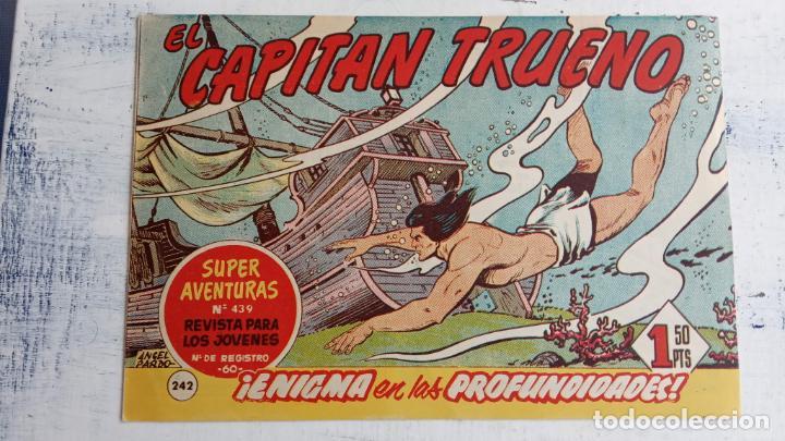 Tebeos: EL CAPITÀN TRUENO ORIGINAL AÑO 1956 COMPLETA Y SUELTA 1 AL 618 - VER TODAS LAS PORTADAS, MUY BUENA - Foto 614 - 204841075