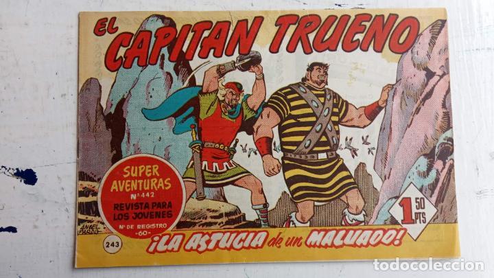 Tebeos: EL CAPITÀN TRUENO ORIGINAL AÑO 1956 COMPLETA Y SUELTA 1 AL 618 - VER TODAS LAS PORTADAS, MUY BUENA - Foto 615 - 204841075