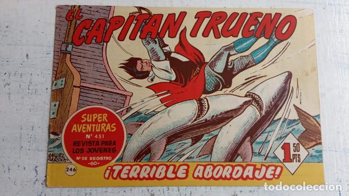 Tebeos: EL CAPITÀN TRUENO ORIGINAL AÑO 1956 COMPLETA Y SUELTA 1 AL 618 - VER TODAS LAS PORTADAS, MUY BUENA - Foto 618 - 204841075
