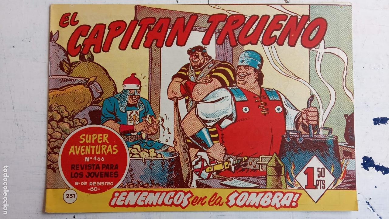 Tebeos: EL CAPITÀN TRUENO ORIGINAL AÑO 1956 COMPLETA Y SUELTA 1 AL 618 - VER TODAS LAS PORTADAS, MUY BUENA - Foto 619 - 204841075