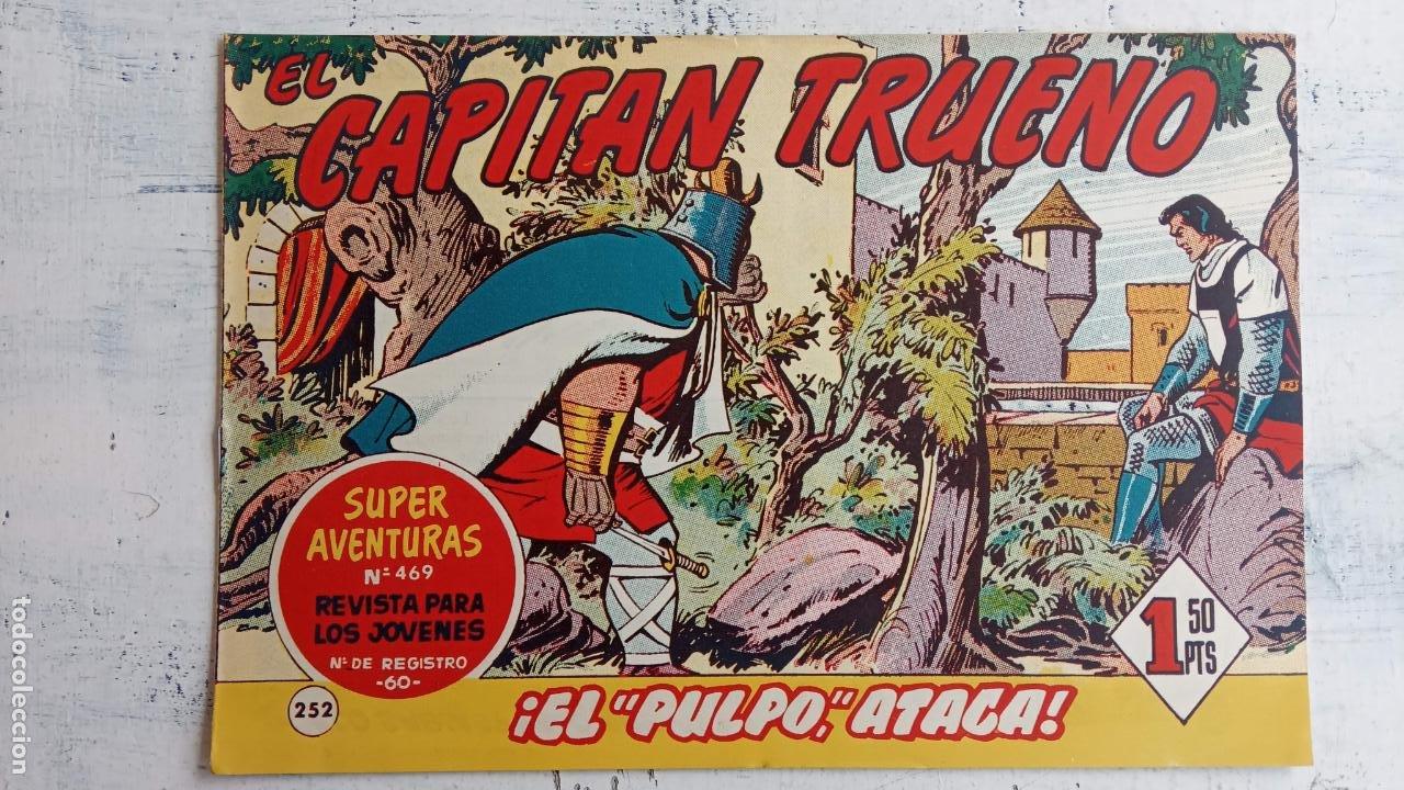 Tebeos: EL CAPITÀN TRUENO ORIGINAL AÑO 1956 COMPLETA Y SUELTA 1 AL 618 - VER TODAS LAS PORTADAS, MUY BUENA - Foto 620 - 204841075