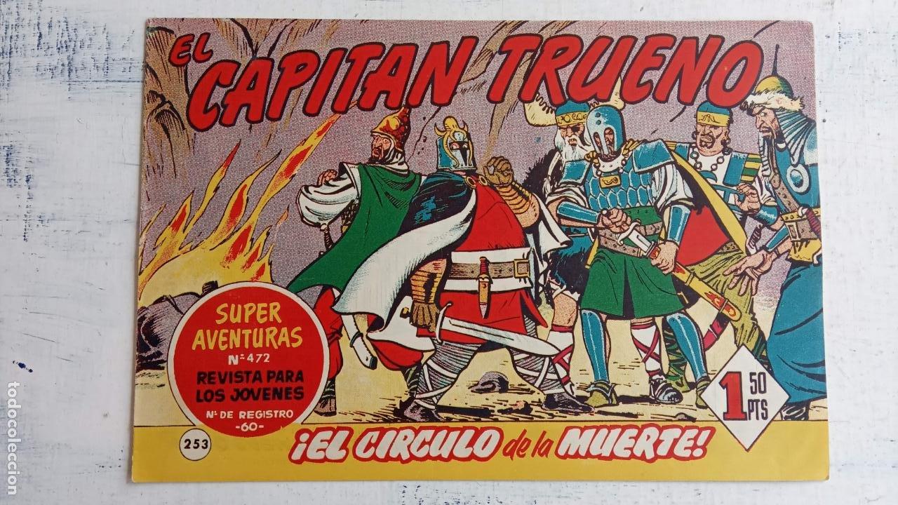 Tebeos: EL CAPITÀN TRUENO ORIGINAL AÑO 1956 COMPLETA Y SUELTA 1 AL 618 - VER TODAS LAS PORTADAS, MUY BUENA - Foto 621 - 204841075
