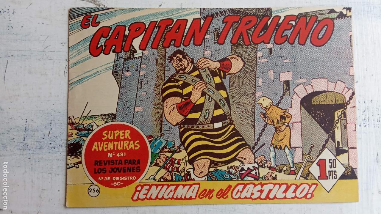 Tebeos: EL CAPITÀN TRUENO ORIGINAL AÑO 1956 COMPLETA Y SUELTA 1 AL 618 - VER TODAS LAS PORTADAS, MUY BUENA - Foto 624 - 204841075