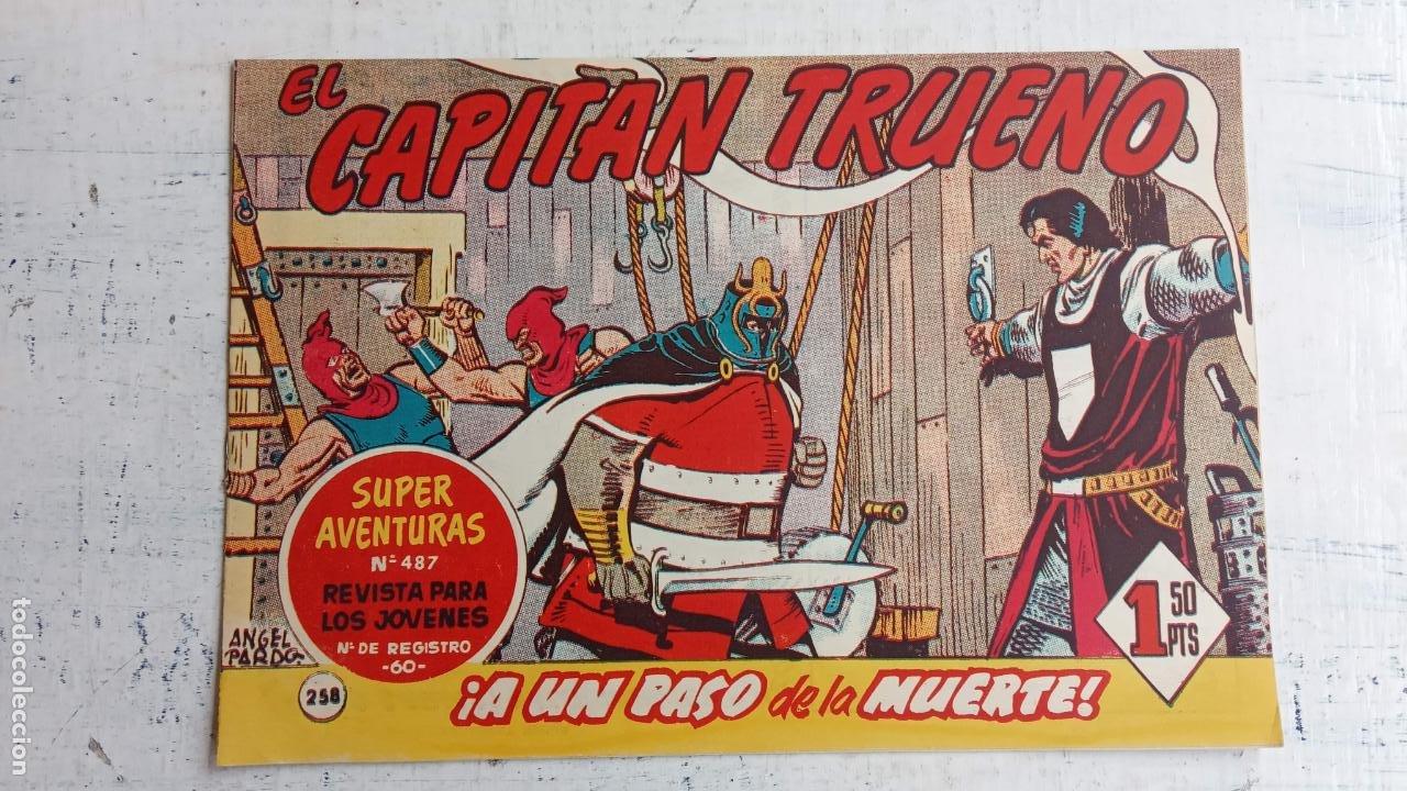 Tebeos: EL CAPITÀN TRUENO ORIGINAL AÑO 1956 COMPLETA Y SUELTA 1 AL 618 - VER TODAS LAS PORTADAS, MUY BUENA - Foto 626 - 204841075