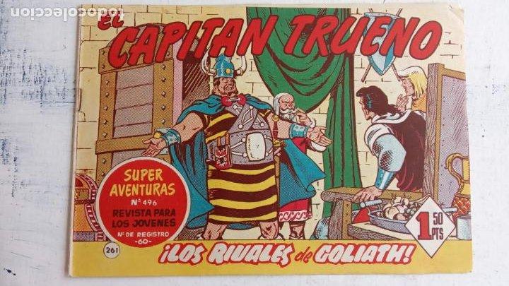 Tebeos: EL CAPITÀN TRUENO ORIGINAL AÑO 1956 COMPLETA Y SUELTA 1 AL 618 - VER TODAS LAS PORTADAS, MUY BUENA - Foto 629 - 204841075