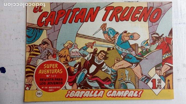 Tebeos: EL CAPITÀN TRUENO ORIGINAL AÑO 1956 COMPLETA Y SUELTA 1 AL 618 - VER TODAS LAS PORTADAS, MUY BUENA - Foto 631 - 204841075