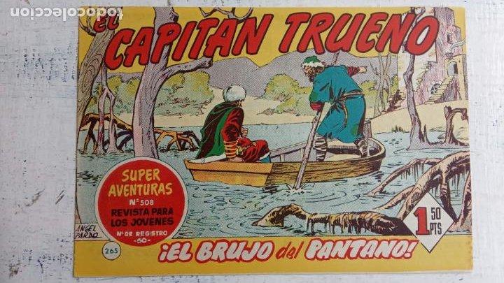 Tebeos: EL CAPITÀN TRUENO ORIGINAL AÑO 1956 COMPLETA Y SUELTA 1 AL 618 - VER TODAS LAS PORTADAS, MUY BUENA - Foto 633 - 204841075