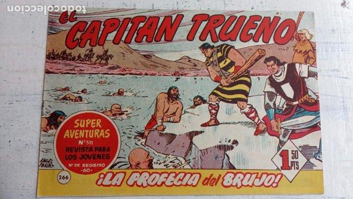 Tebeos: EL CAPITÀN TRUENO ORIGINAL AÑO 1956 COMPLETA Y SUELTA 1 AL 618 - VER TODAS LAS PORTADAS, MUY BUENA - Foto 634 - 204841075