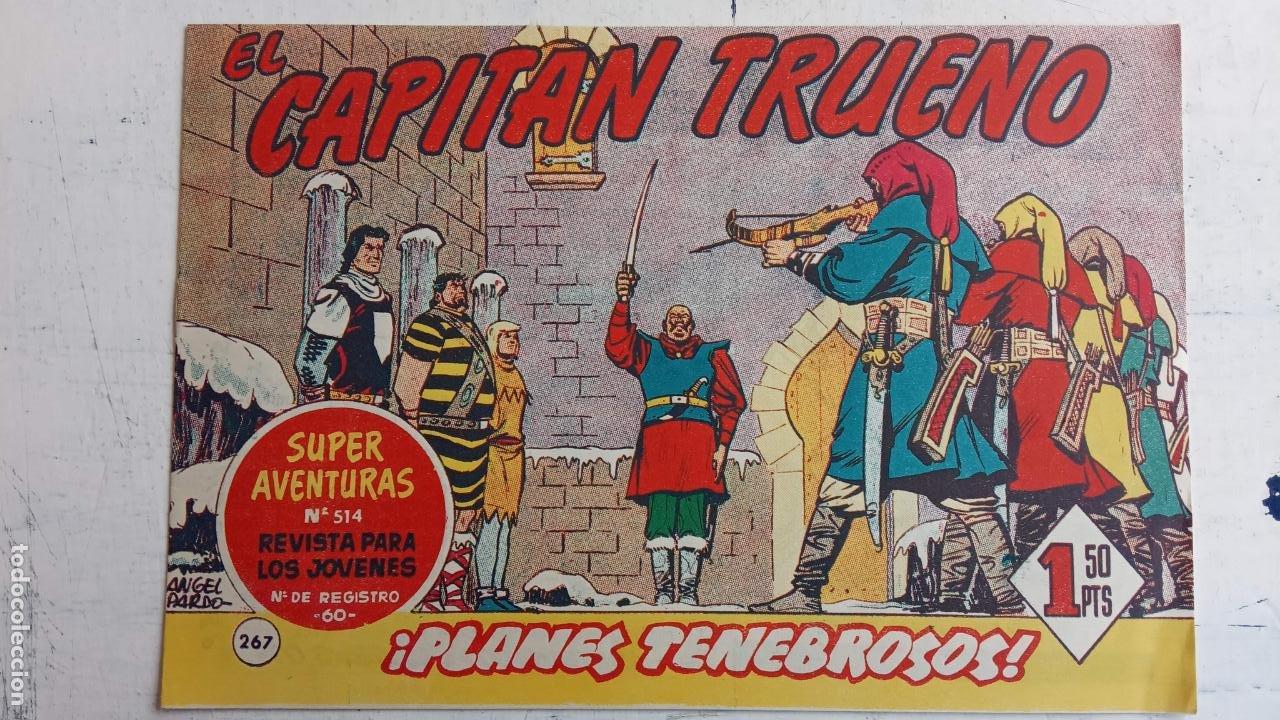 Tebeos: EL CAPITÀN TRUENO ORIGINAL AÑO 1956 COMPLETA Y SUELTA 1 AL 618 - VER TODAS LAS PORTADAS, MUY BUENA - Foto 635 - 204841075