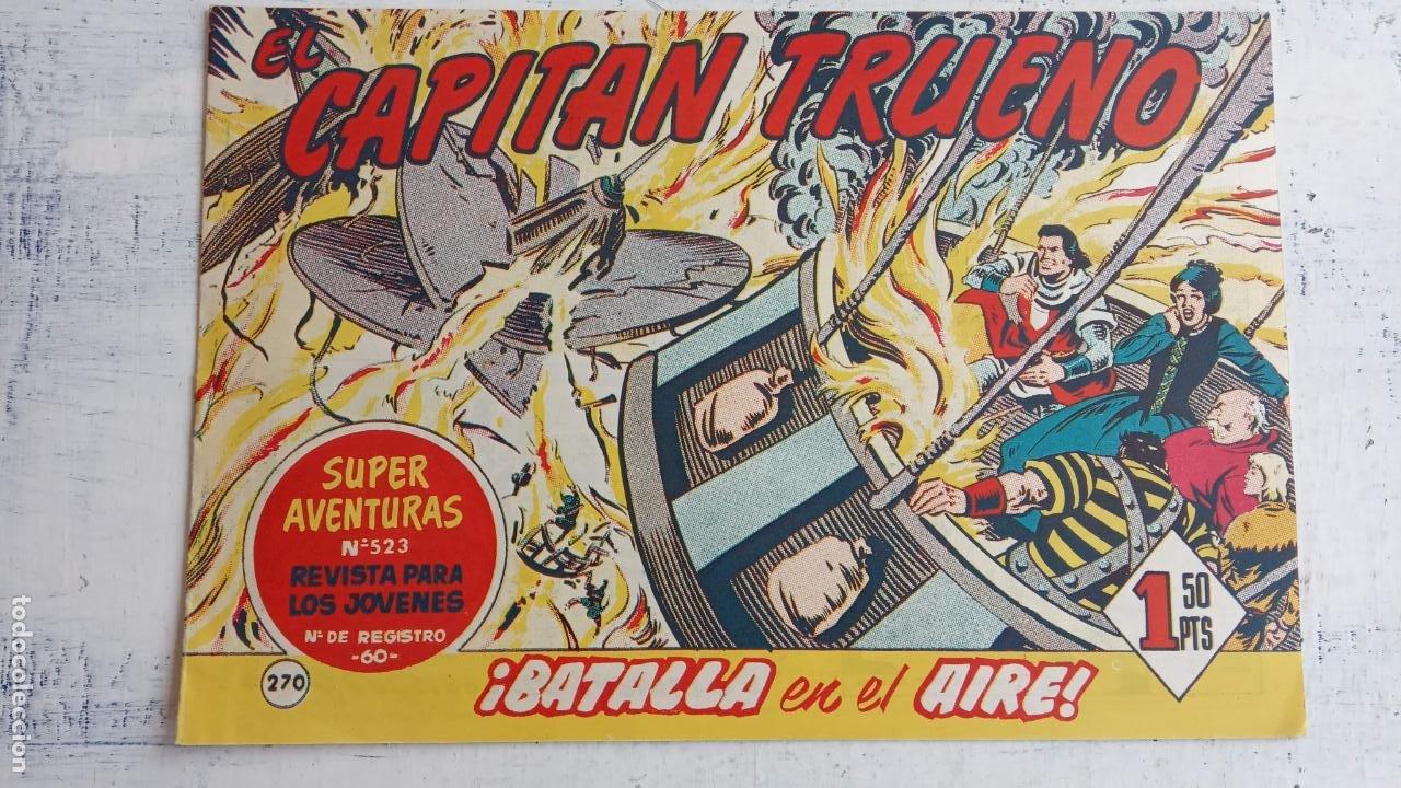 Tebeos: EL CAPITÀN TRUENO ORIGINAL AÑO 1956 COMPLETA Y SUELTA 1 AL 618 - VER TODAS LAS PORTADAS, MUY BUENA - Foto 638 - 204841075