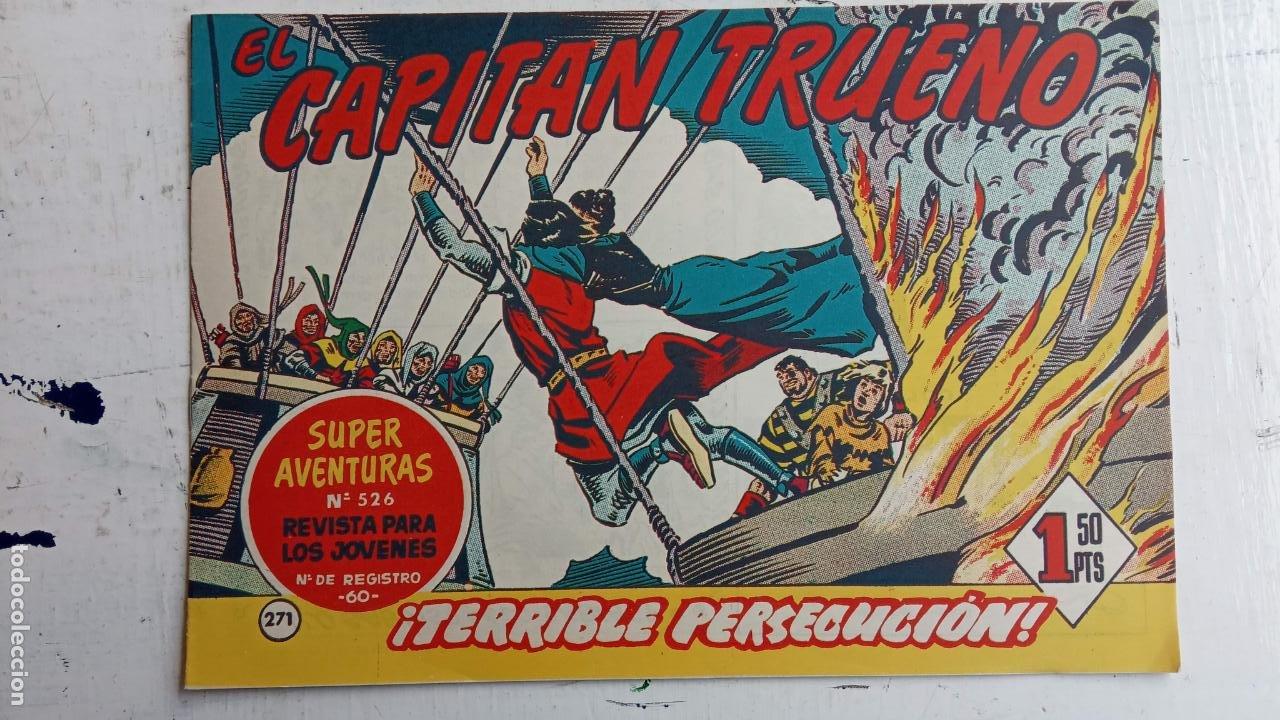 Tebeos: EL CAPITÀN TRUENO ORIGINAL AÑO 1956 COMPLETA Y SUELTA 1 AL 618 - VER TODAS LAS PORTADAS, MUY BUENA - Foto 639 - 204841075