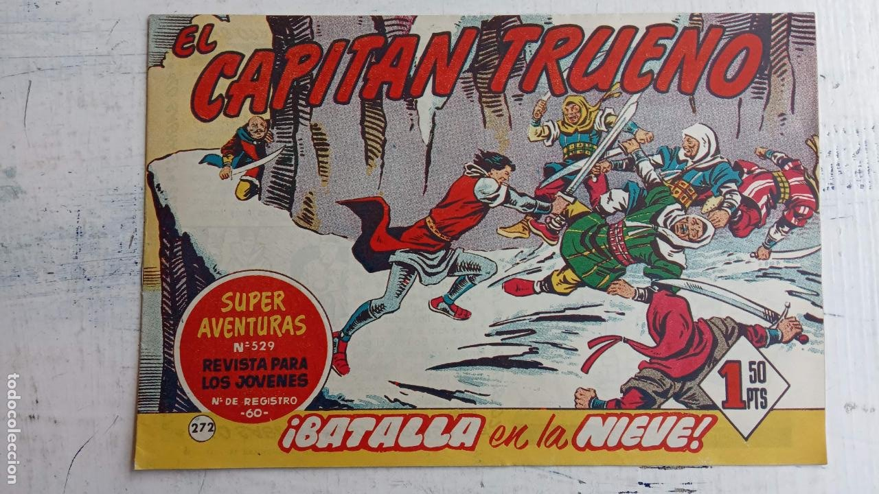 Tebeos: EL CAPITÀN TRUENO ORIGINAL AÑO 1956 COMPLETA Y SUELTA 1 AL 618 - VER TODAS LAS PORTADAS, MUY BUENA - Foto 640 - 204841075