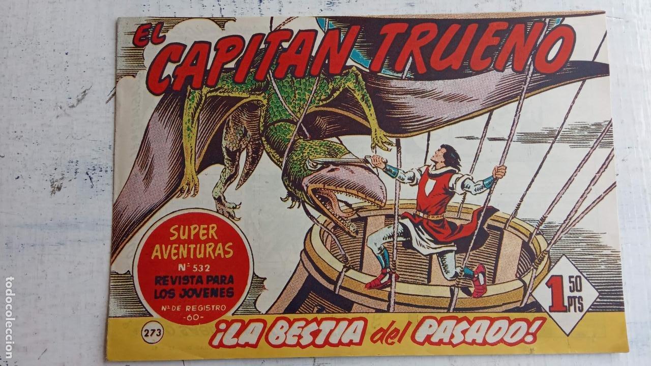 Tebeos: EL CAPITÀN TRUENO ORIGINAL AÑO 1956 COMPLETA Y SUELTA 1 AL 618 - VER TODAS LAS PORTADAS, MUY BUENA - Foto 641 - 204841075