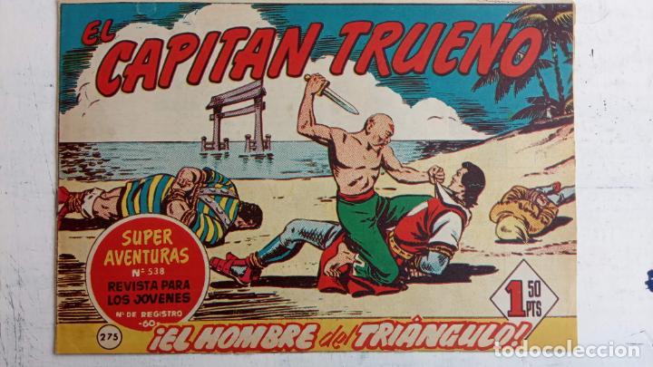 Tebeos: EL CAPITÀN TRUENO ORIGINAL AÑO 1956 COMPLETA Y SUELTA 1 AL 618 - VER TODAS LAS PORTADAS, MUY BUENA - Foto 643 - 204841075