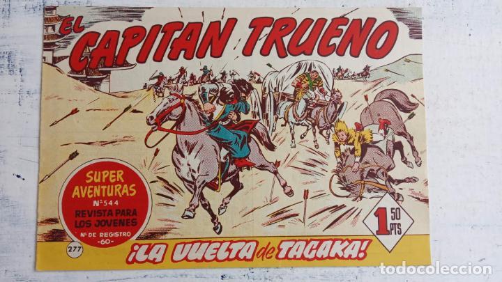 Tebeos: EL CAPITÀN TRUENO ORIGINAL AÑO 1956 COMPLETA Y SUELTA 1 AL 618 - VER TODAS LAS PORTADAS, MUY BUENA - Foto 645 - 204841075