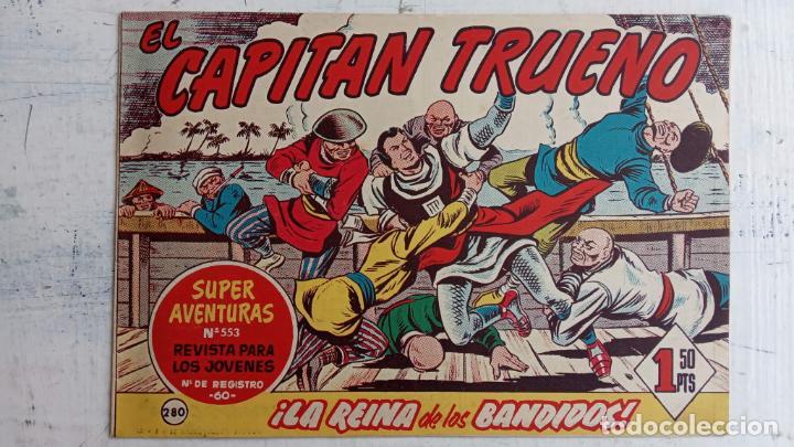 Tebeos: EL CAPITÀN TRUENO ORIGINAL AÑO 1956 COMPLETA Y SUELTA 1 AL 618 - VER TODAS LAS PORTADAS, MUY BUENA - Foto 648 - 204841075