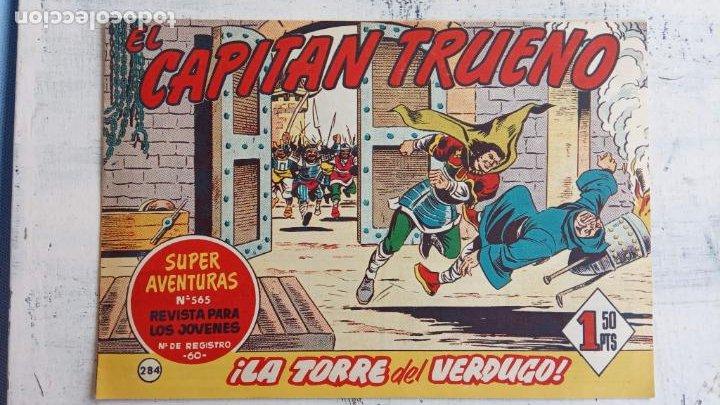 Tebeos: EL CAPITÀN TRUENO ORIGINAL AÑO 1956 COMPLETA Y SUELTA 1 AL 618 - VER TODAS LAS PORTADAS, MUY BUENA - Foto 652 - 204841075