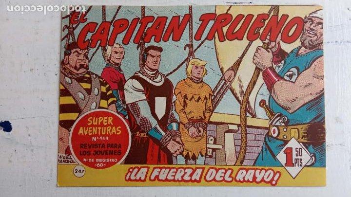 Tebeos: EL CAPITÀN TRUENO ORIGINAL AÑO 1956 COMPLETA Y SUELTA 1 AL 618 - VER TODAS LAS PORTADAS, MUY BUENA - Foto 654 - 204841075