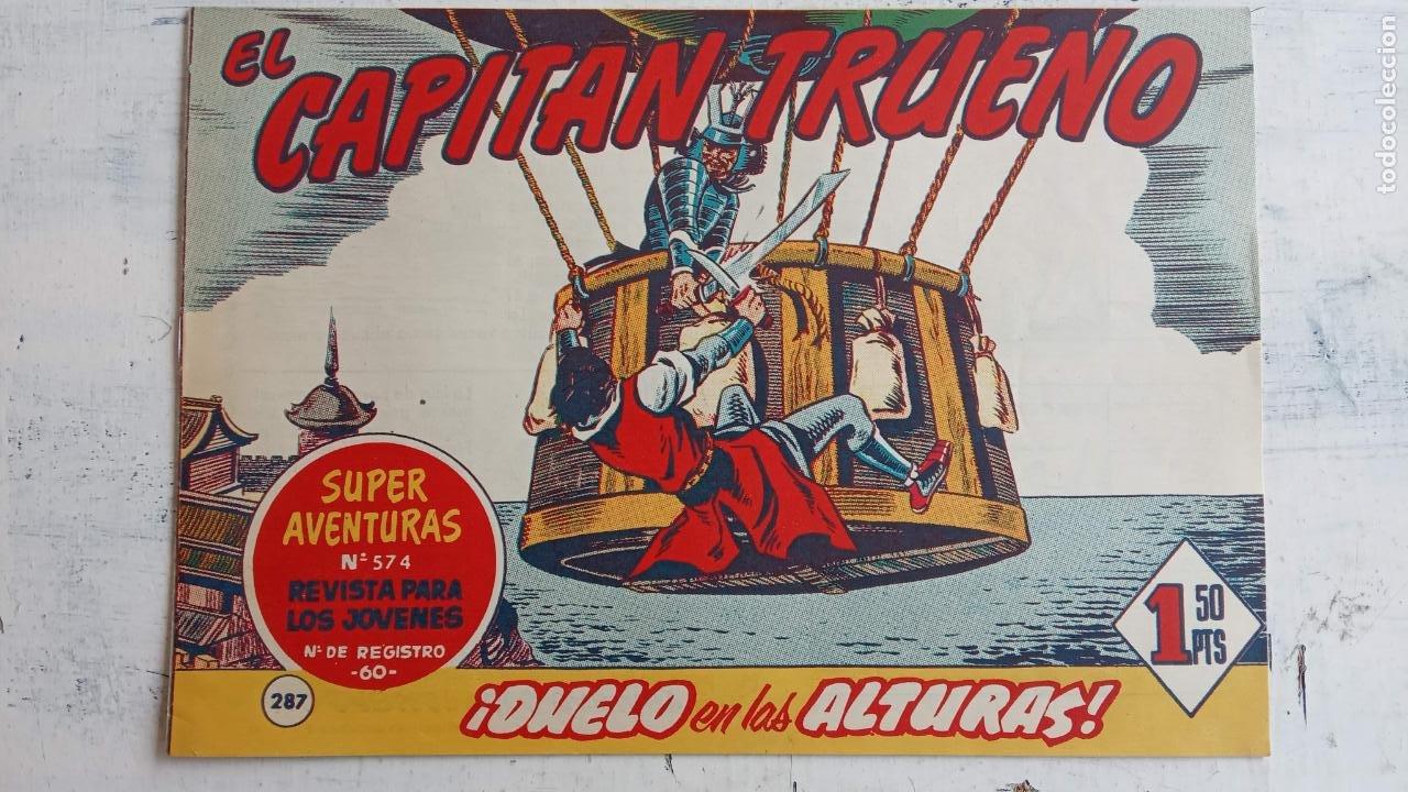 Tebeos: EL CAPITÀN TRUENO ORIGINAL AÑO 1956 COMPLETA Y SUELTA 1 AL 618 - VER TODAS LAS PORTADAS, MUY BUENA - Foto 659 - 204841075