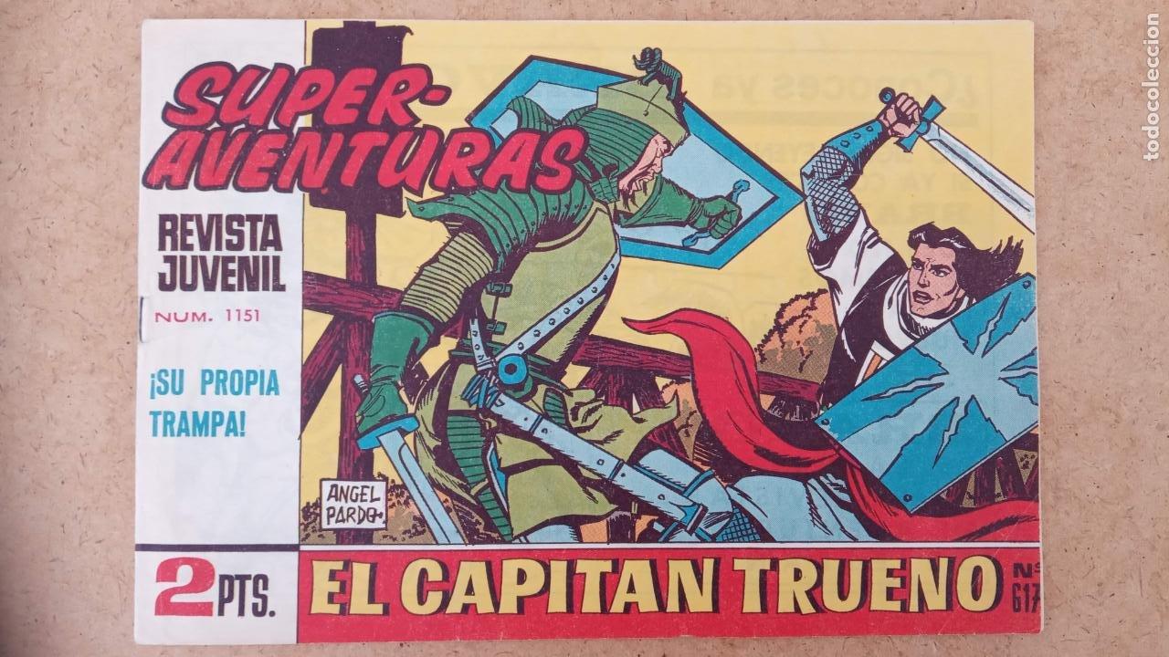 Tebeos: EL CAPITÀN TRUENO ORIGINAL AÑO 1956 COMPLETA Y SUELTA 1 AL 618 - VER TODAS LAS PORTADAS, MUY BUENA - Foto 660 - 204841075