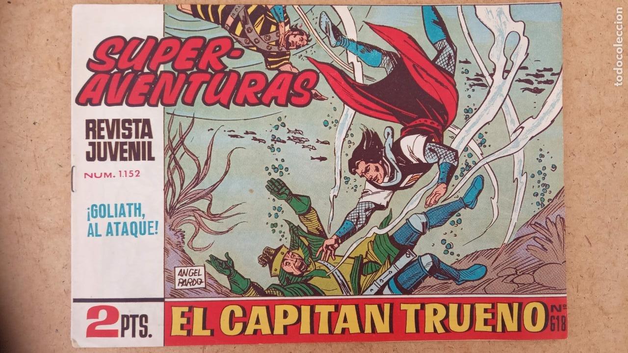 Tebeos: EL CAPITÀN TRUENO ORIGINAL AÑO 1956 COMPLETA Y SUELTA 1 AL 618 - VER TODAS LAS PORTADAS, MUY BUENA - Foto 662 - 204841075