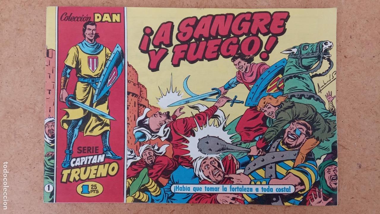Tebeos: EL CAPITÀN TRUENO ORIGINAL AÑO 1956 COMPLETA Y SUELTA 1 AL 618 - VER TODAS LAS PORTADAS, MUY BUENA - Foto 665 - 204841075
