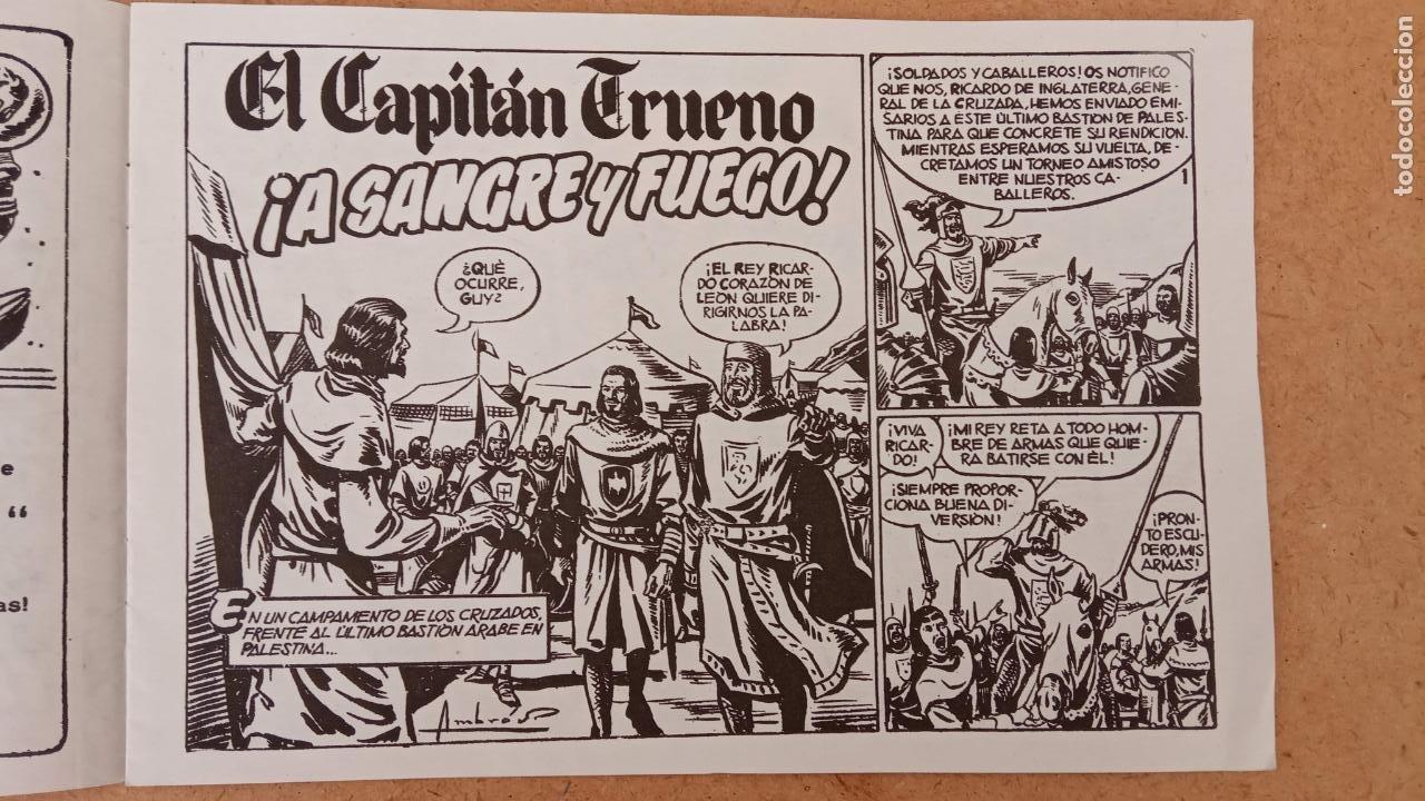 Tebeos: EL CAPITÀN TRUENO ORIGINAL AÑO 1956 COMPLETA Y SUELTA 1 AL 618 - VER TODAS LAS PORTADAS, MUY BUENA - Foto 666 - 204841075