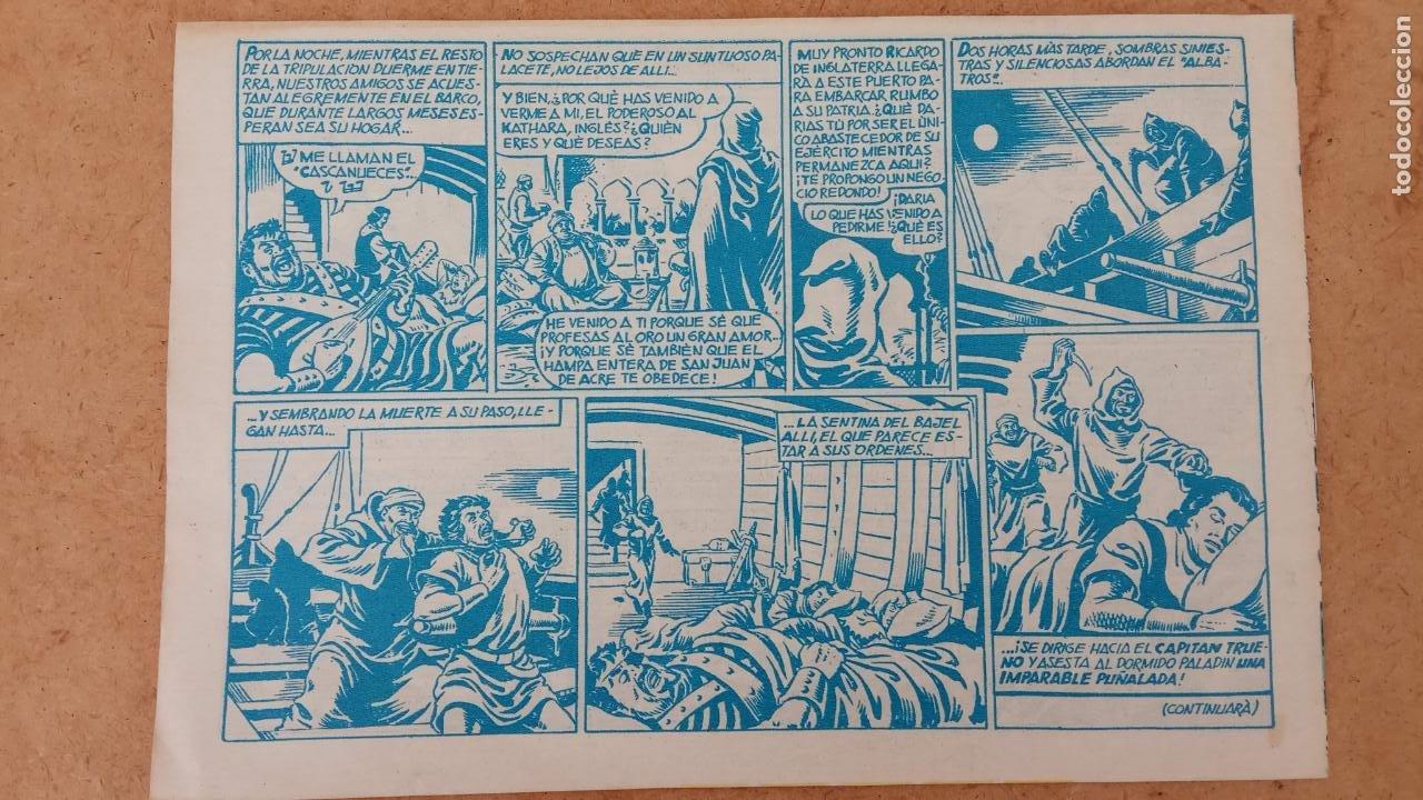 Tebeos: EL CAPITÀN TRUENO ORIGINAL AÑO 1956 COMPLETA Y SUELTA 1 AL 618 - VER TODAS LAS PORTADAS, MUY BUENA - Foto 670 - 204841075
