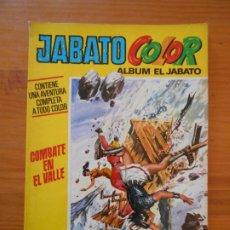 Tebeos: JABATO COLOR - ALBUM EL JABATO Nº 25 - COMBATE EN EL VALLE - BRUGUERA (F1). Lote 205001425