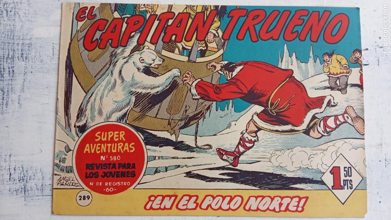 Tebeos: EL CAPITÀN TRUENO ORIGINAL AÑO 1956 COMPLETA Y SUELTA 1 AL 618 - VER TODAS LAS PORTADAS, MUY BUENA - Foto 673 - 204841075