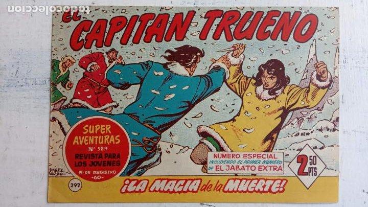 Tebeos: EL CAPITÀN TRUENO ORIGINAL AÑO 1956 COMPLETA Y SUELTA 1 AL 618 - VER TODAS LAS PORTADAS, MUY BUENA - Foto 676 - 204841075