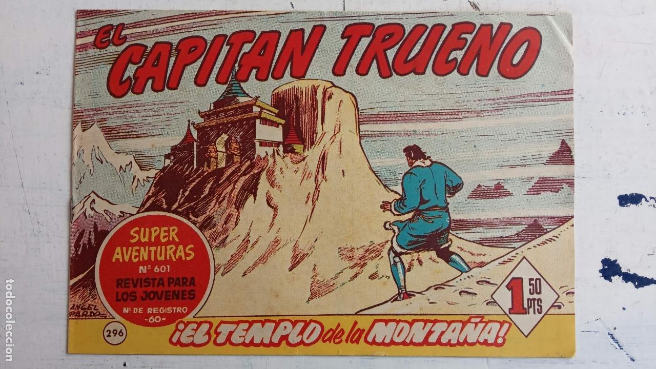 Tebeos: EL CAPITÀN TRUENO ORIGINAL AÑO 1956 COMPLETA Y SUELTA 1 AL 618 - VER TODAS LAS PORTADAS, MUY BUENA - Foto 680 - 204841075