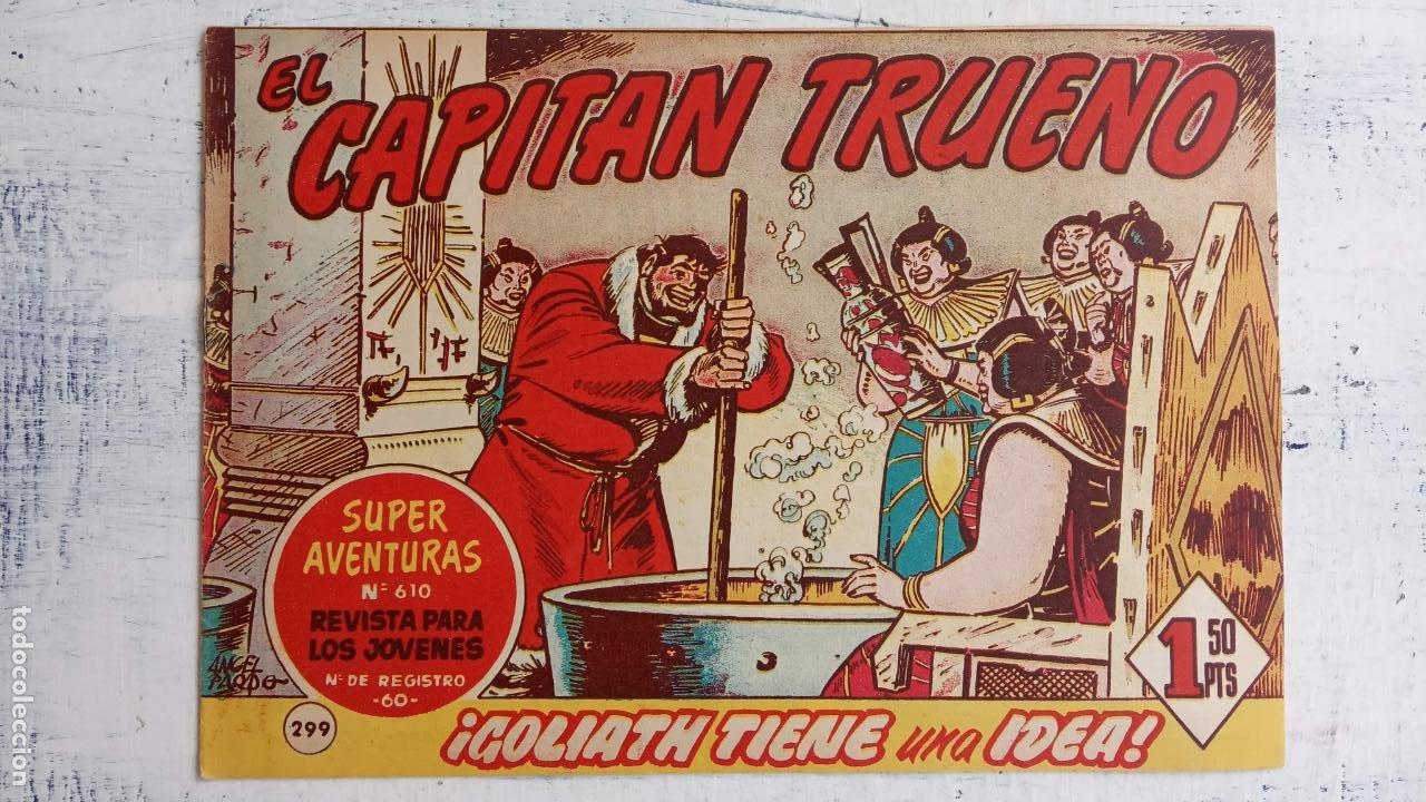 Tebeos: EL CAPITÀN TRUENO ORIGINAL AÑO 1956 COMPLETA Y SUELTA 1 AL 618 - VER TODAS LAS PORTADAS, MUY BUENA - Foto 683 - 204841075