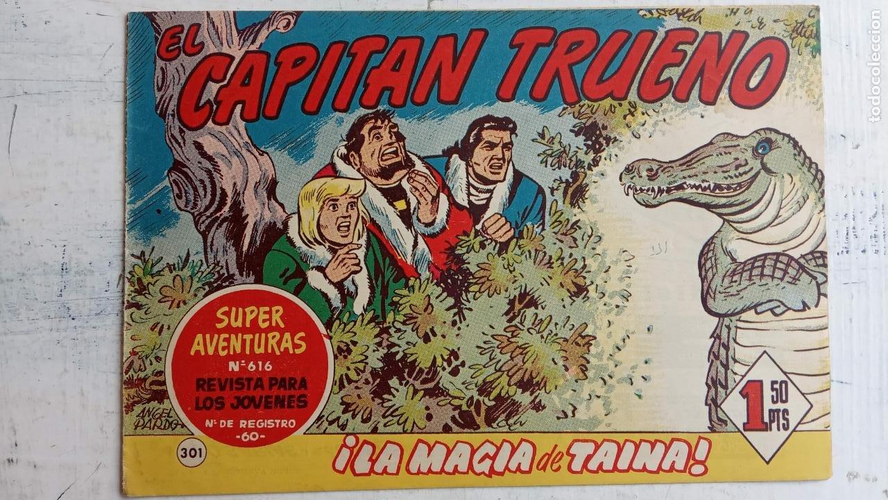 Tebeos: EL CAPITÀN TRUENO ORIGINAL AÑO 1956 COMPLETA Y SUELTA 1 AL 618 - VER TODAS LAS PORTADAS, MUY BUENA - Foto 685 - 204841075