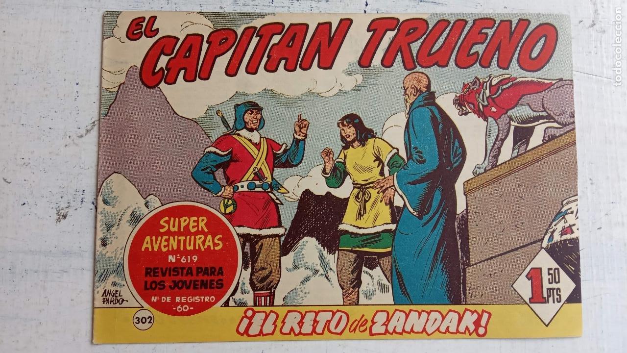 Tebeos: EL CAPITÀN TRUENO ORIGINAL AÑO 1956 COMPLETA Y SUELTA 1 AL 618 - VER TODAS LAS PORTADAS, MUY BUENA - Foto 686 - 204841075