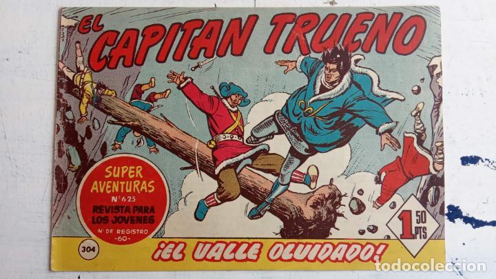 Tebeos: EL CAPITÀN TRUENO ORIGINAL AÑO 1956 COMPLETA Y SUELTA 1 AL 618 - VER TODAS LAS PORTADAS, MUY BUENA - Foto 688 - 204841075