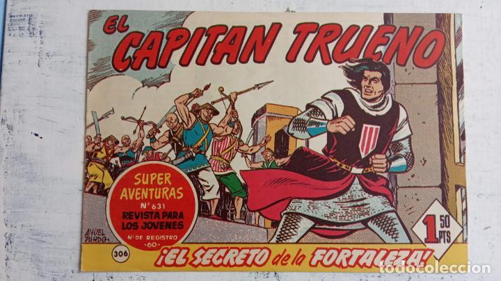 Tebeos: EL CAPITÀN TRUENO ORIGINAL AÑO 1956 COMPLETA Y SUELTA 1 AL 618 - VER TODAS LAS PORTADAS, MUY BUENA - Foto 689 - 204841075