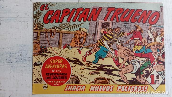 Tebeos: EL CAPITÀN TRUENO ORIGINAL AÑO 1956 COMPLETA Y SUELTA 1 AL 618 - VER TODAS LAS PORTADAS, MUY BUENA - Foto 692 - 204841075