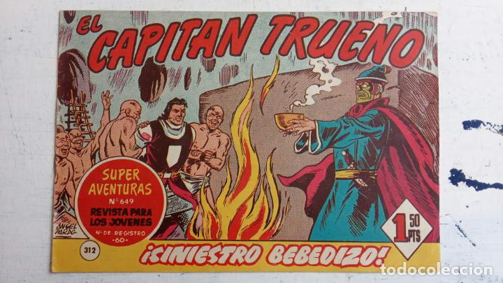 Tebeos: EL CAPITÀN TRUENO ORIGINAL AÑO 1956 COMPLETA Y SUELTA 1 AL 618 - VER TODAS LAS PORTADAS, MUY BUENA - Foto 695 - 204841075