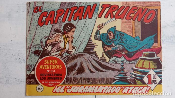 Tebeos: EL CAPITÀN TRUENO ORIGINAL AÑO 1956 COMPLETA Y SUELTA 1 AL 618 - VER TODAS LAS PORTADAS, MUY BUENA - Foto 696 - 204841075