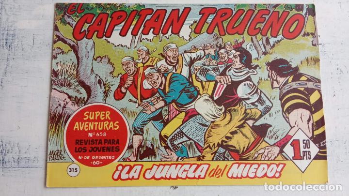 Tebeos: EL CAPITÀN TRUENO ORIGINAL AÑO 1956 COMPLETA Y SUELTA 1 AL 618 - VER TODAS LAS PORTADAS, MUY BUENA - Foto 698 - 204841075